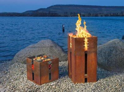 Сталь Кортен (ржавая сталь) в современном дизайне